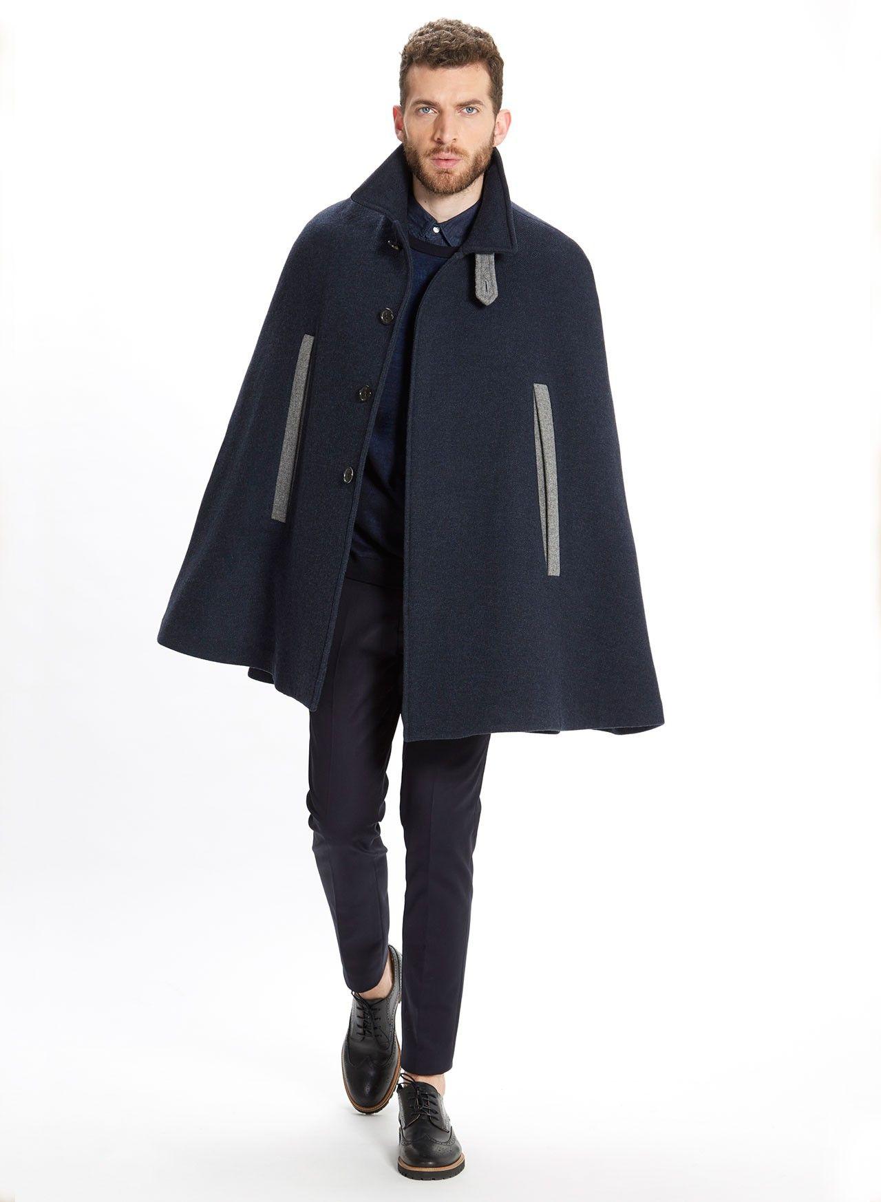 Cape Coat for Men