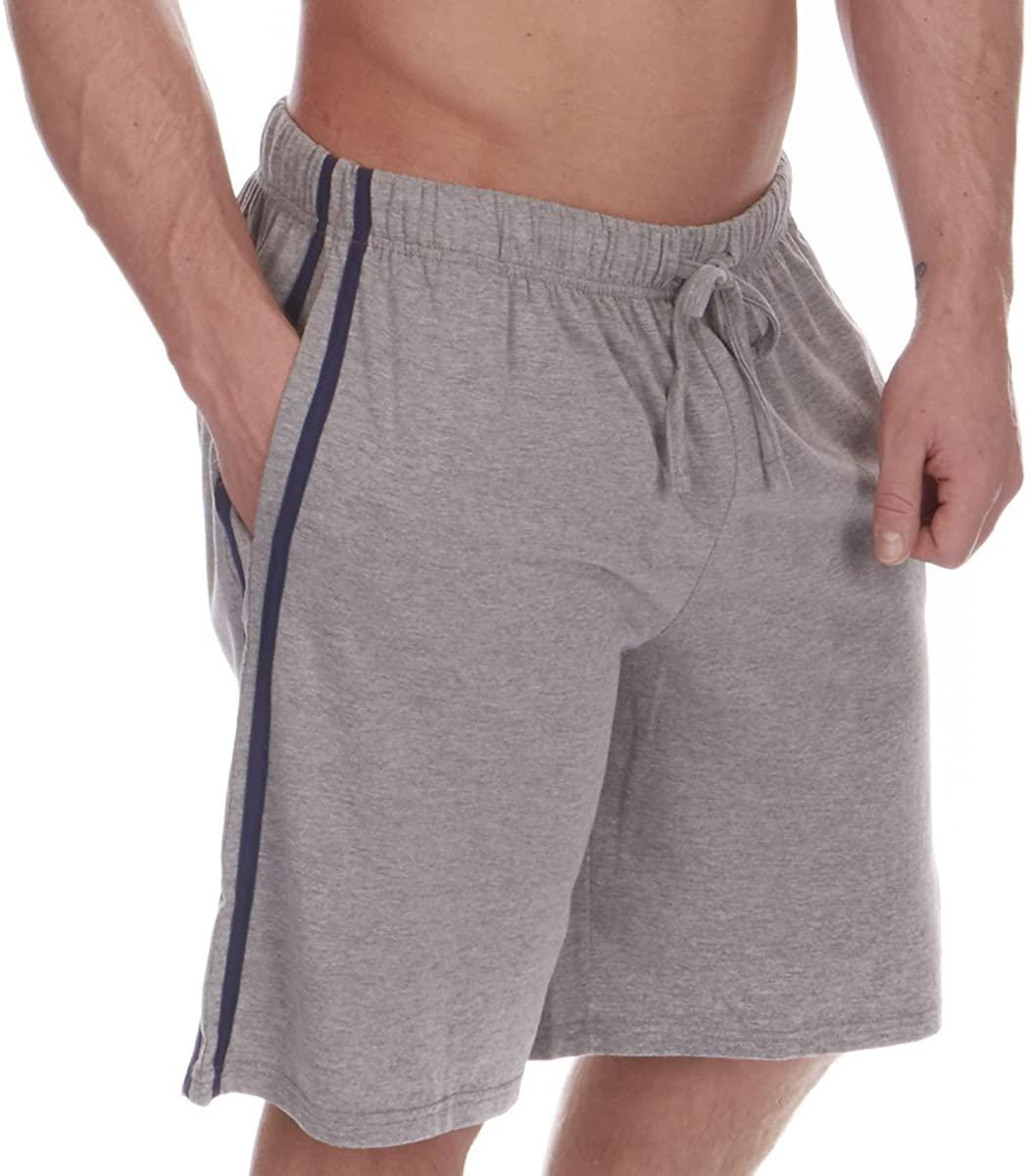 Cargo Bay Mens Lounge Shorts Jersey Cotton Lounge WEAR Pyjama Shorts