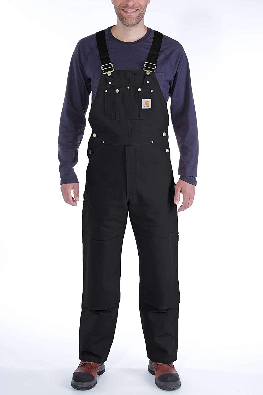 Carhartt Men's Trousers Denim Black R01
