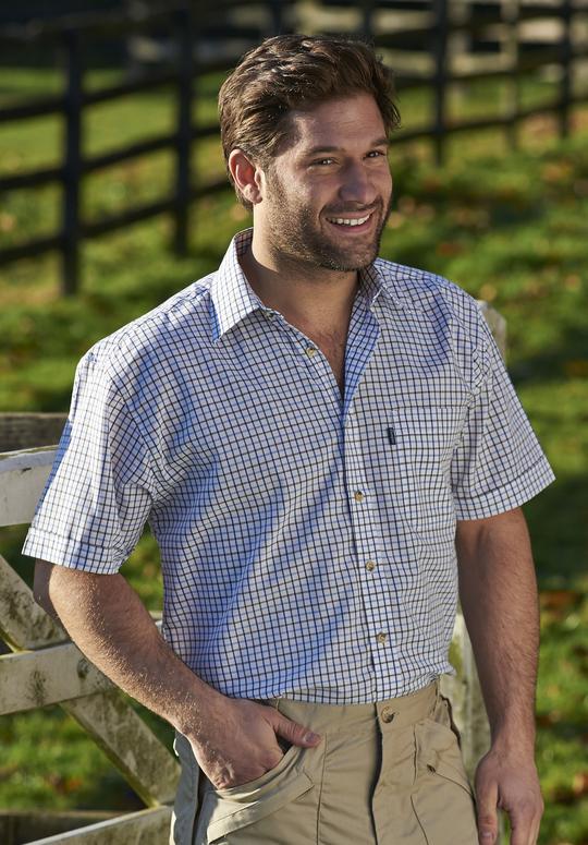 Champion Tattersall Short Sleeved Shirt