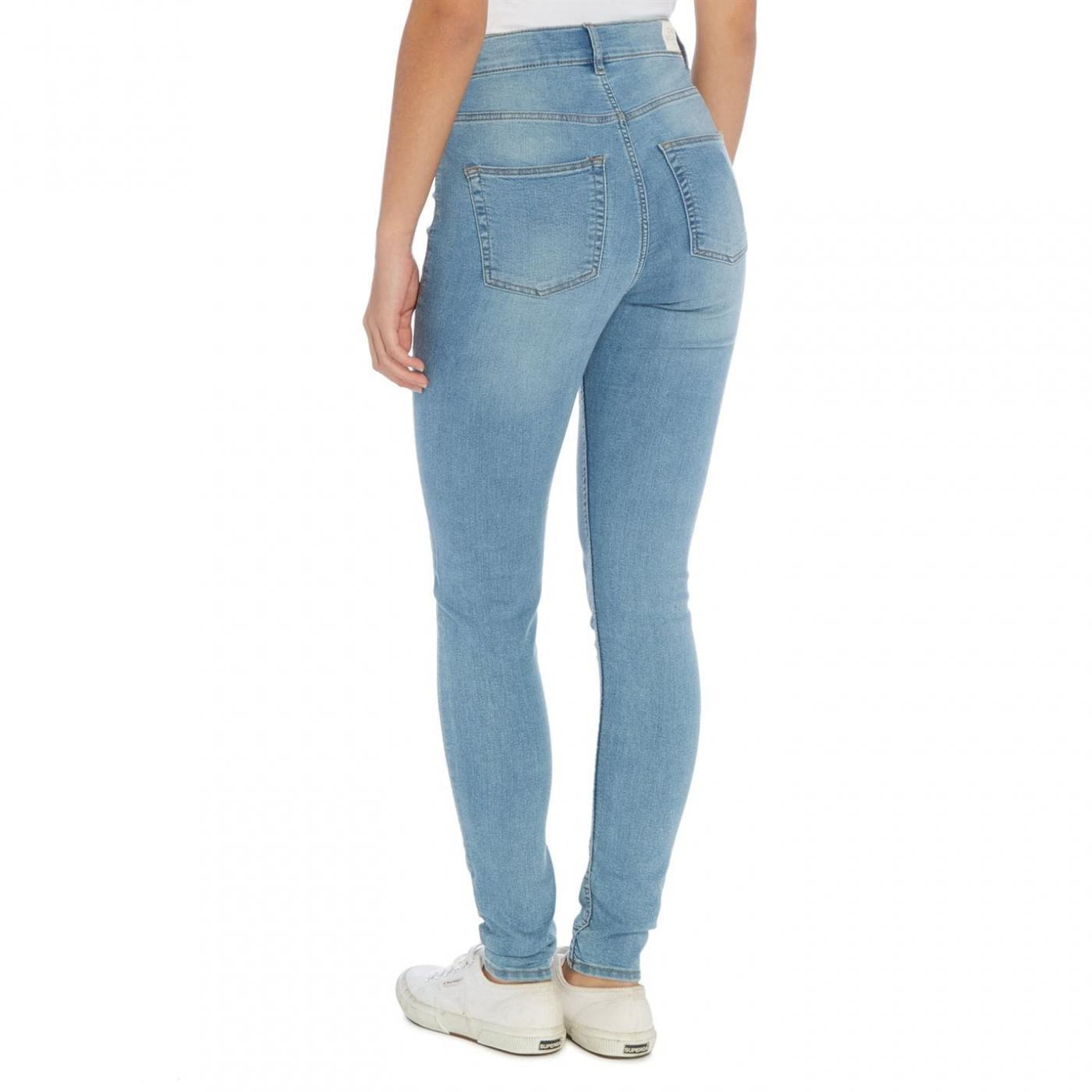 Cheap Monday Jeans | High Rise Spray Skinny Jeans Denim
