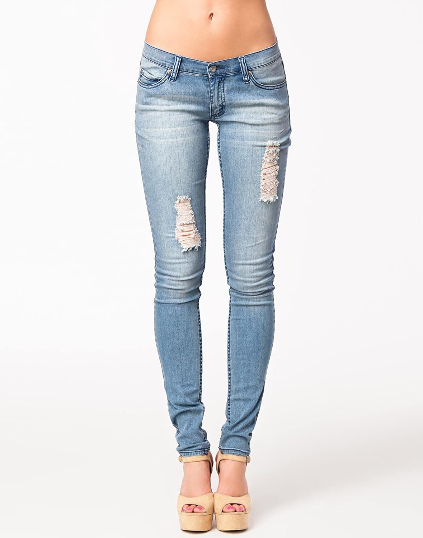 Cheap Monday Women's Slim Junk Blue Jeans