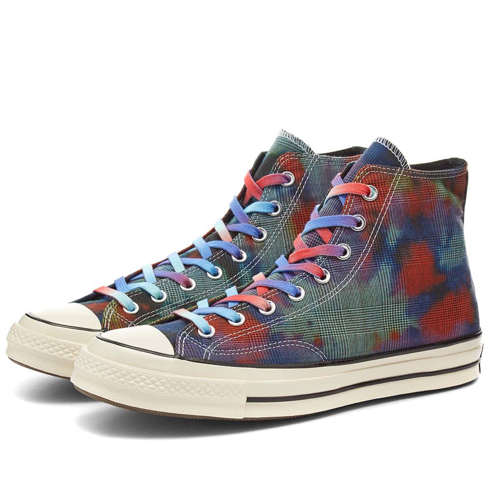 Converse Chuck Taylor 1970s Hi – Tie Dye Plaid