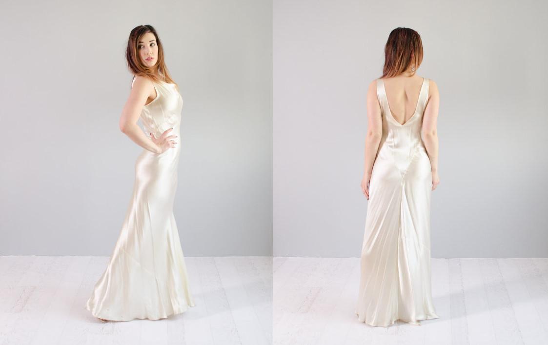 Cowl Back Dress