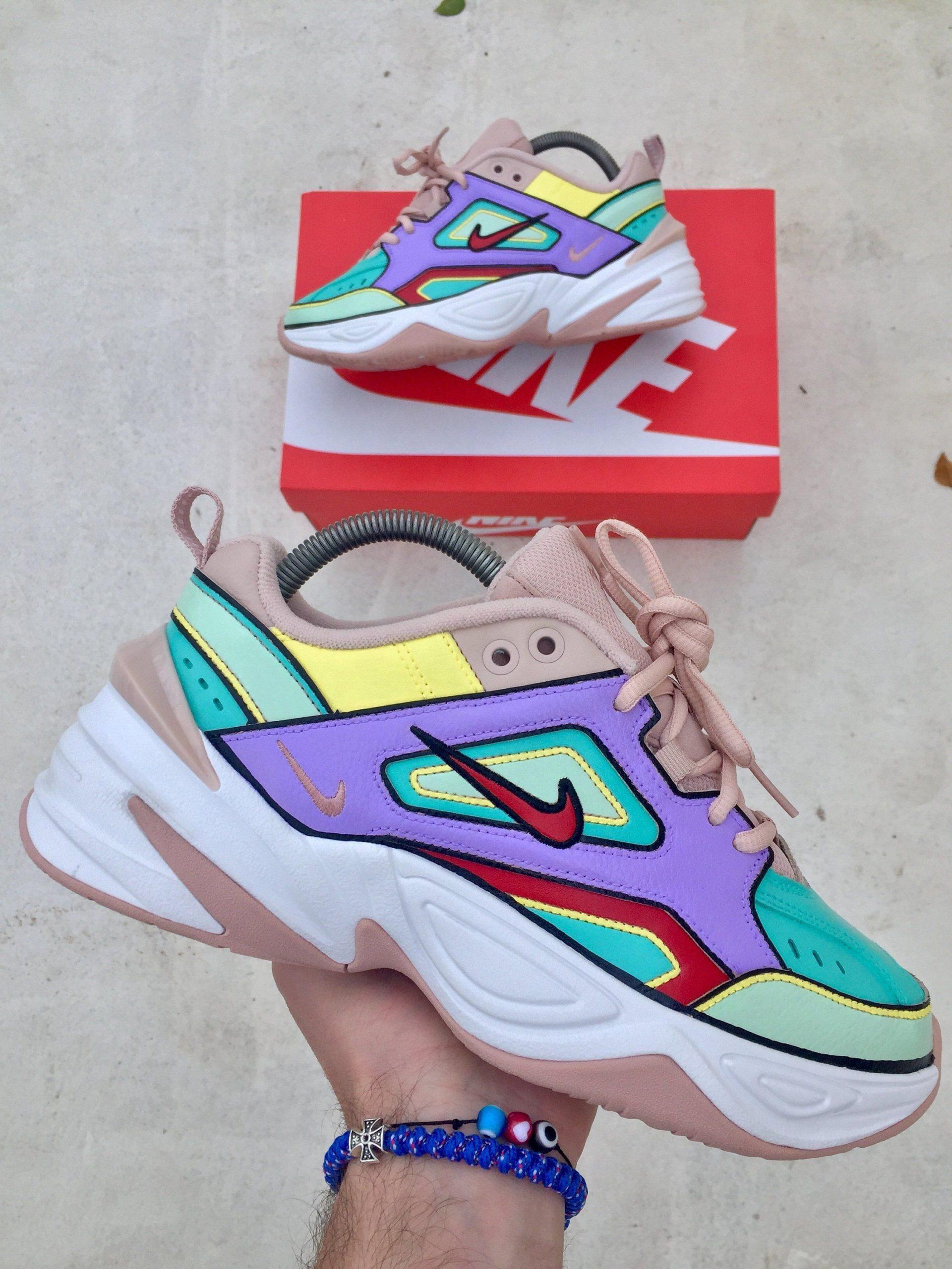 Custom Shoes Nike M2K Tekno Colours