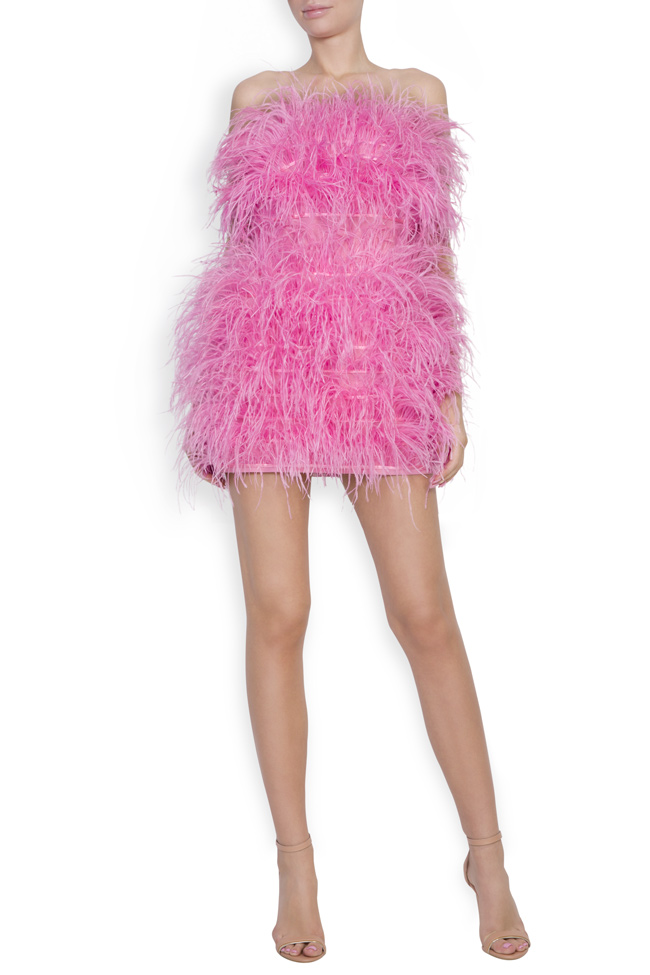 Moulin Rouge ostrich feather dress