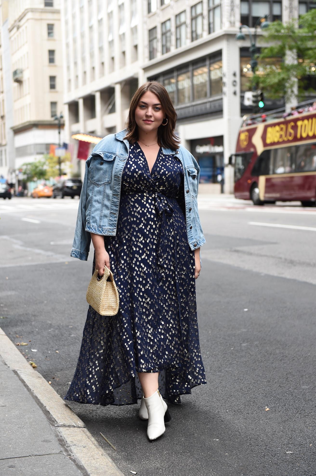 contemporary design plus size dress