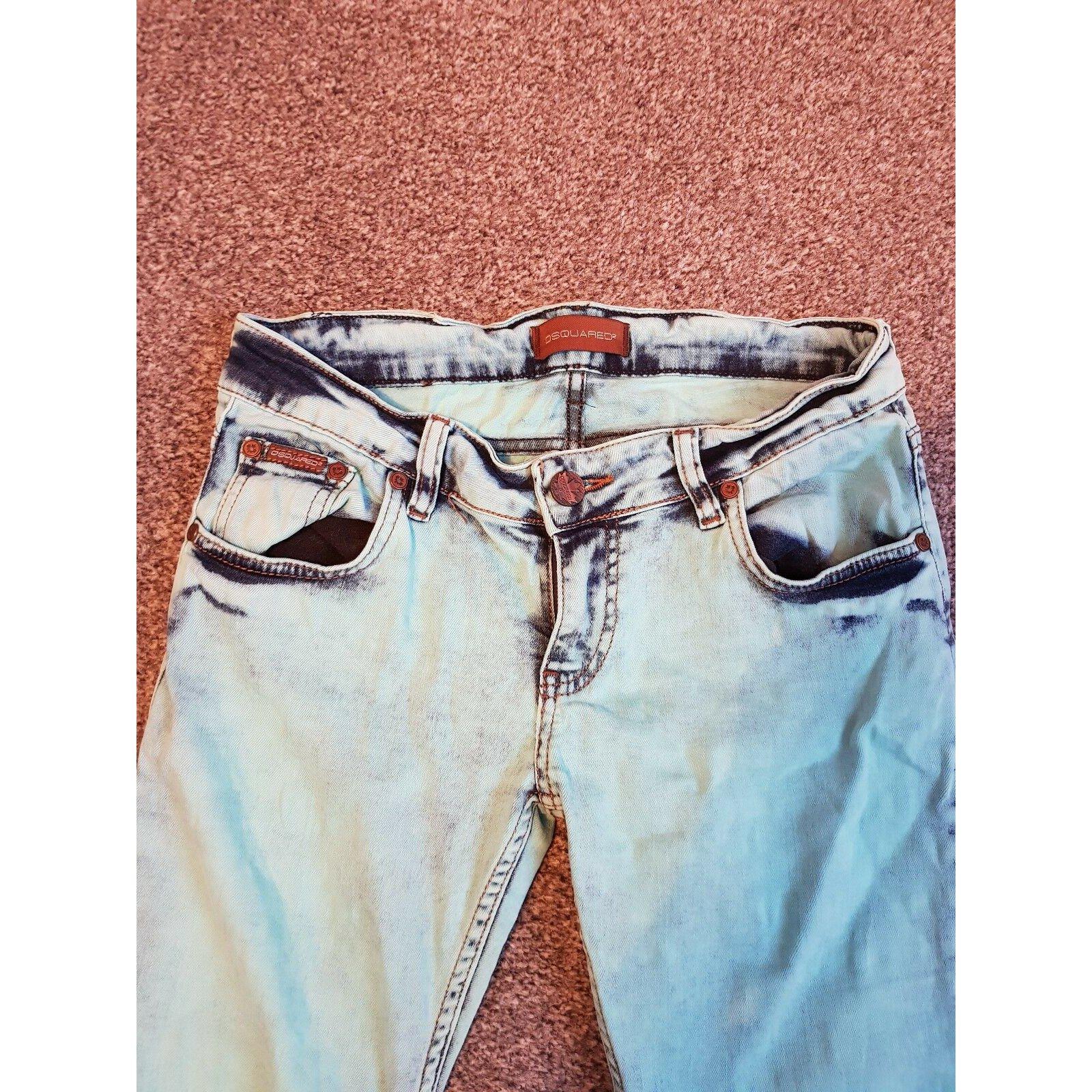 Dsquared2, Dsquared2 acid wash jeans