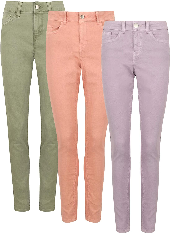 Ex George Ladies Cotton Rich Pastel Skinny Fit Jeans