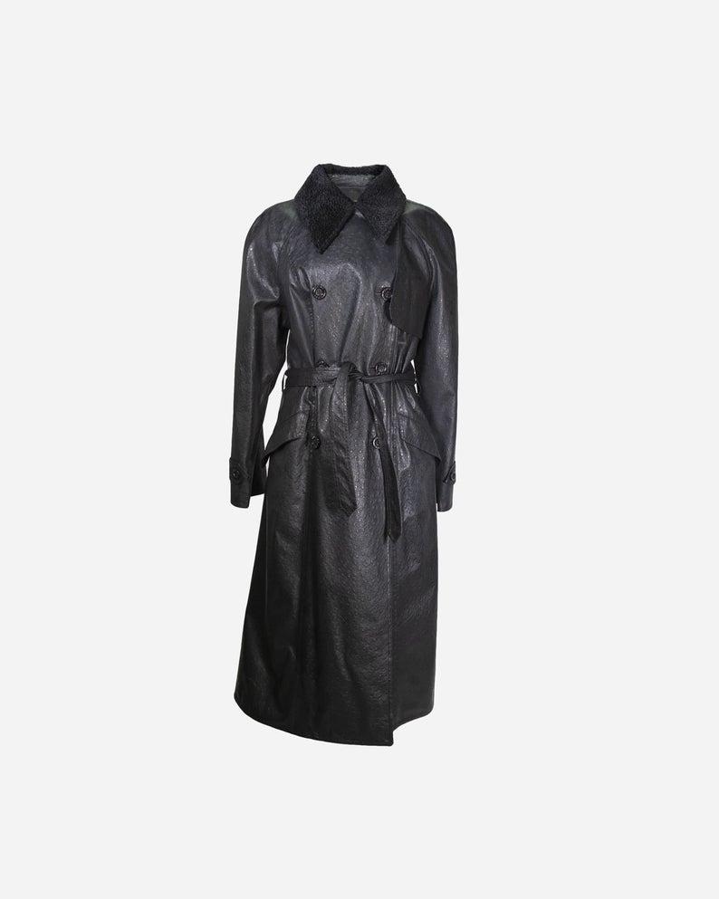 FENDI - Black trench coat
