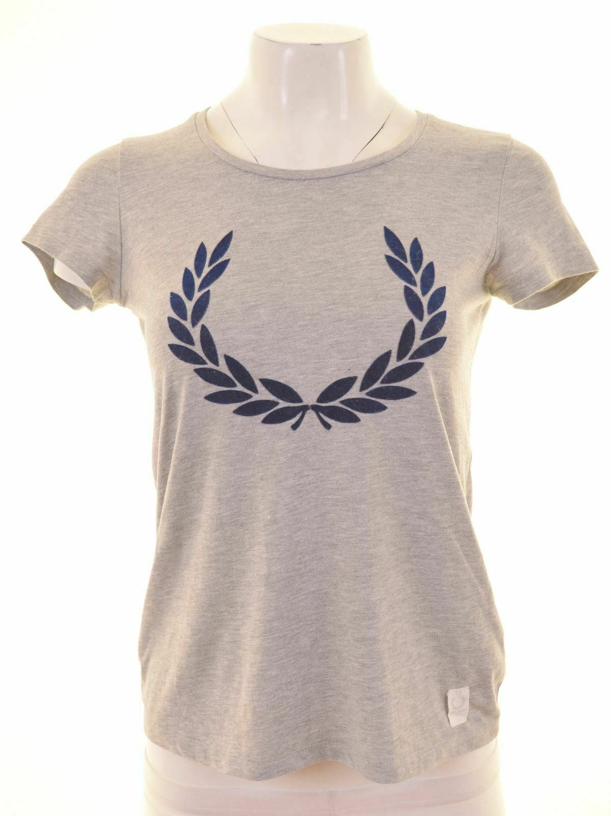 FRED PERRY Womens Graphic T-Shirt