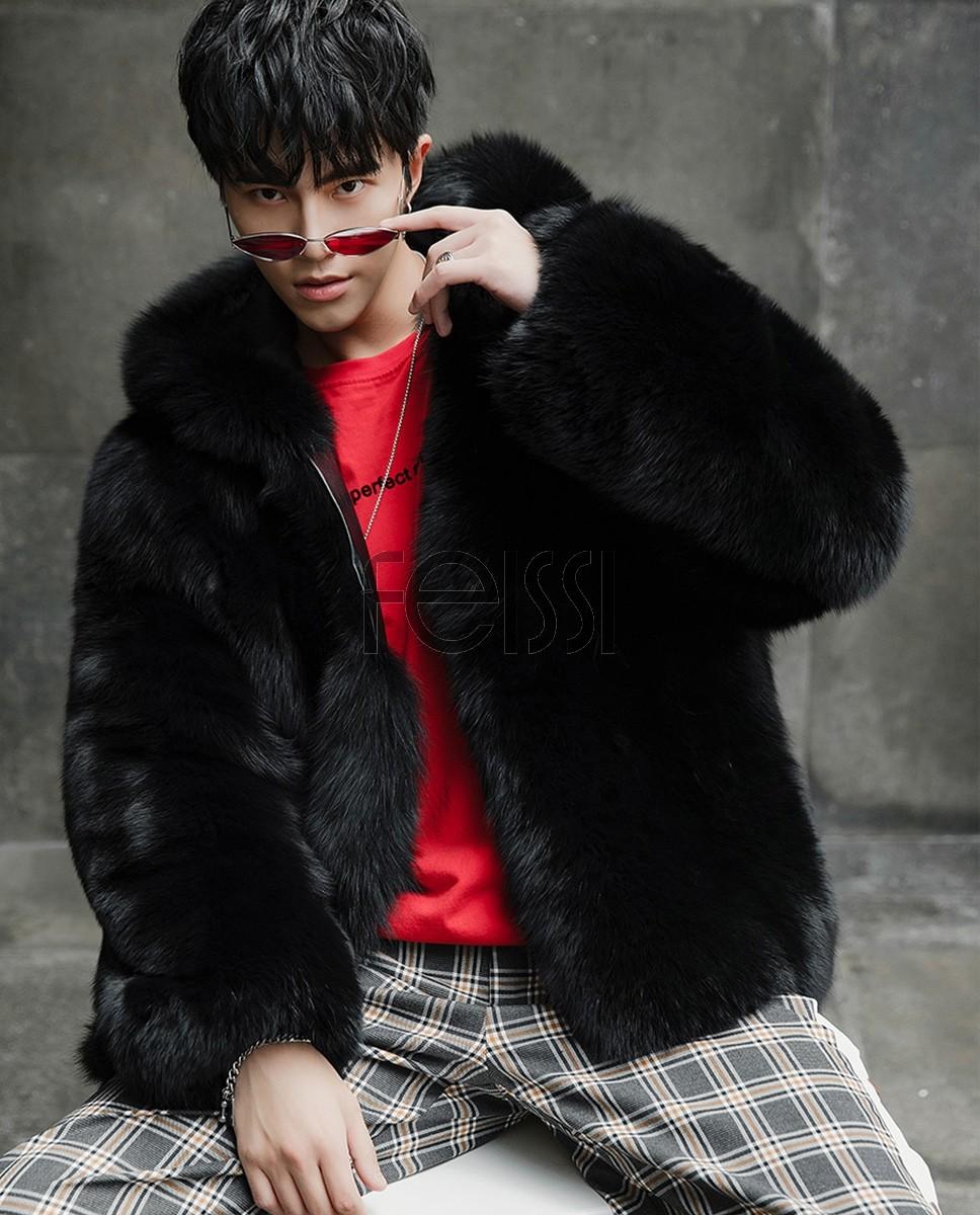 Fur Hoodie