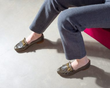 Fashionable Leather Loafers