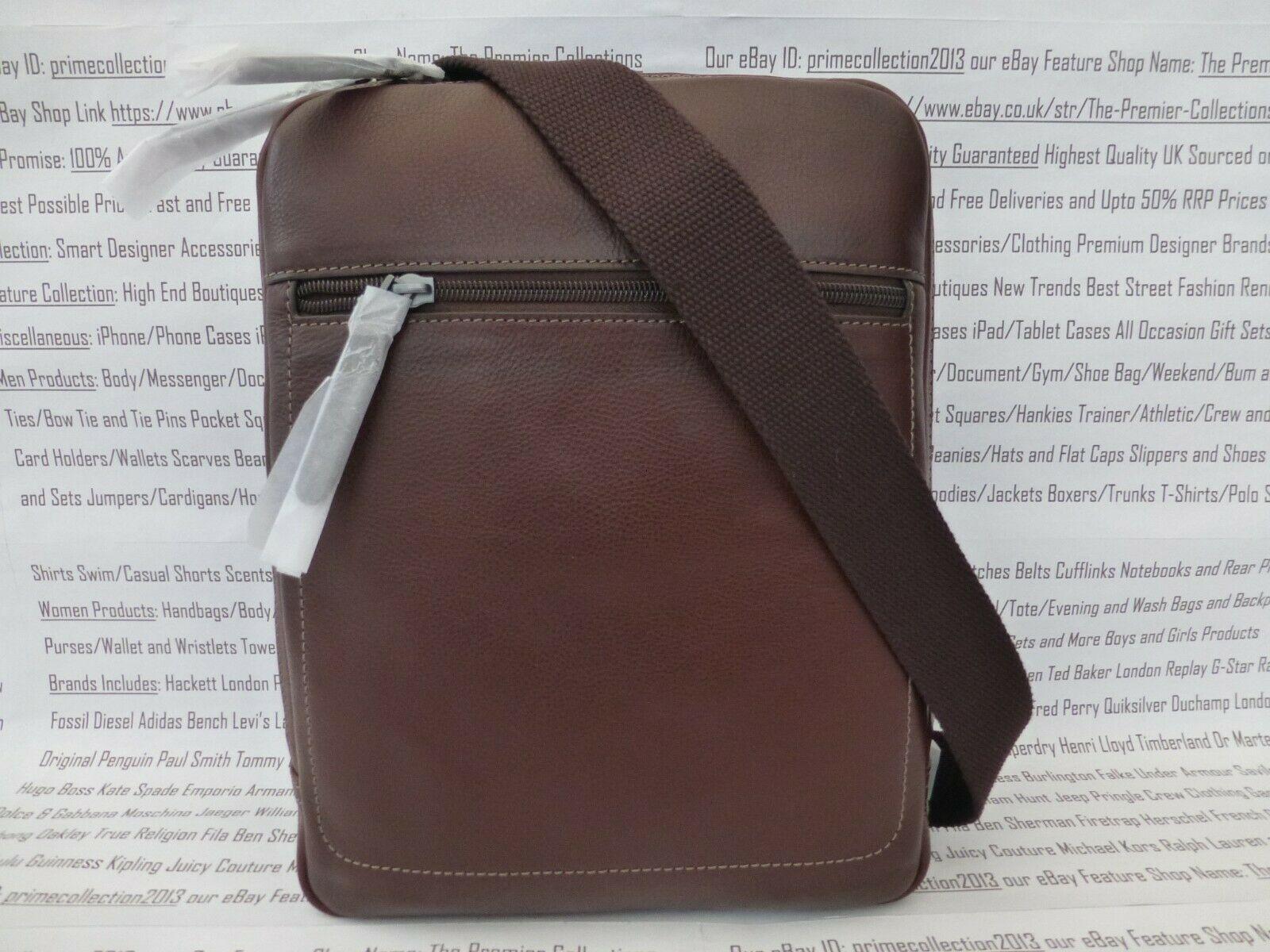 Fossil City Bag Trey Sml-med Shoulder Brown Leather Flight Body Bags RP