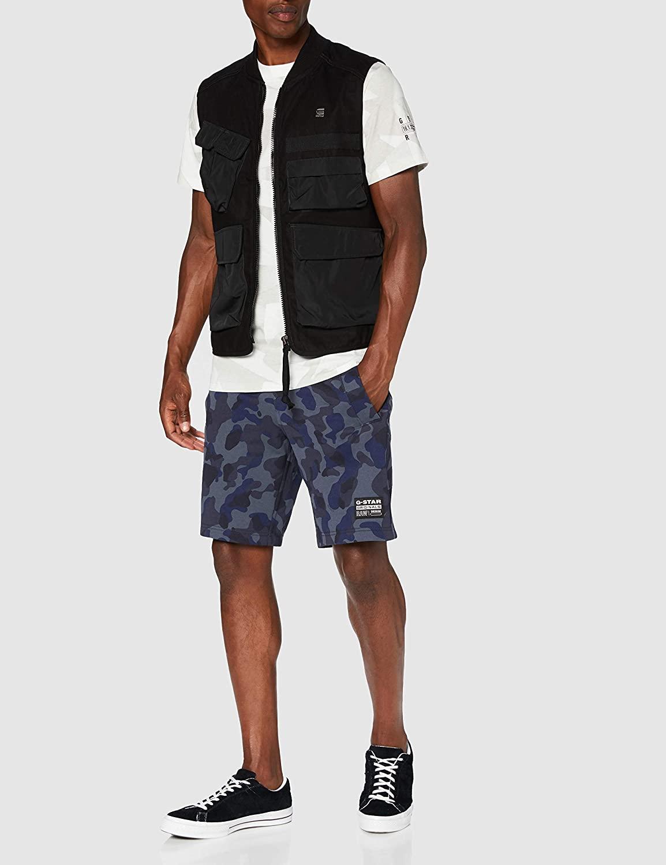 G-STAR RAW Men's Utility Vest Jacket