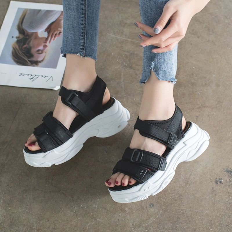 Gladiator Platform Women's Sandals 2021 Summer Fashion Women Chunky Beach Sandal