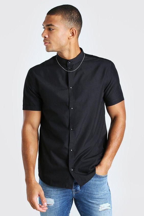 Grandad Short Sleeve shirt