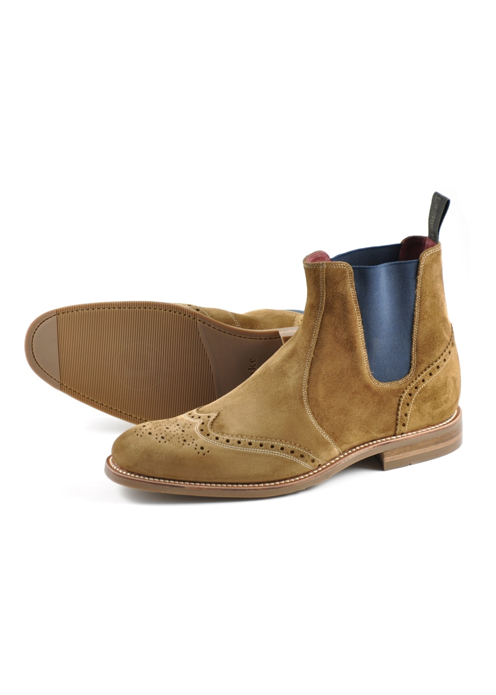 Hoskins Suede Boots