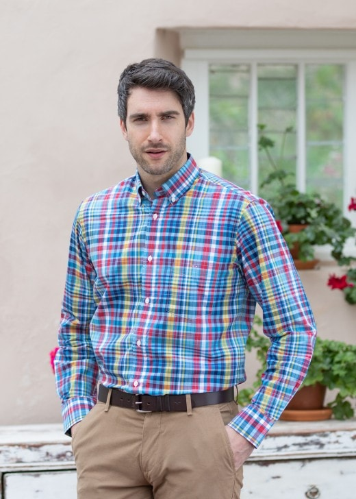 Italian Checked Shirt