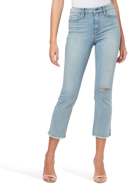 Jessica Simpson Women's Adored Hr Kick Flare Jeans