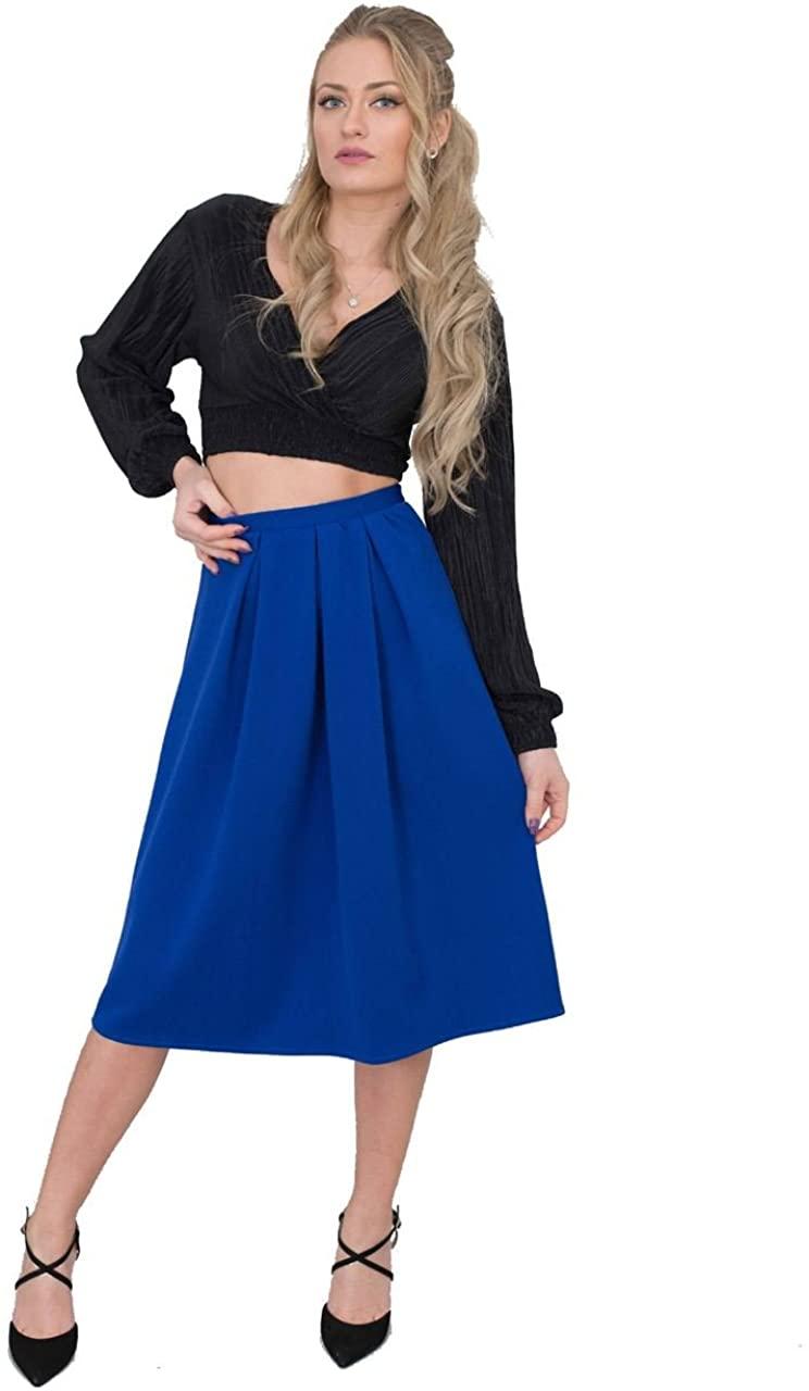 Jolie Max Womens Ladies Skater Skirt