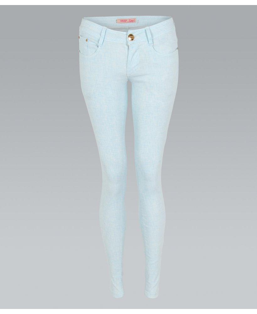 KRISP Two Tone Pastel Skinny Jeans