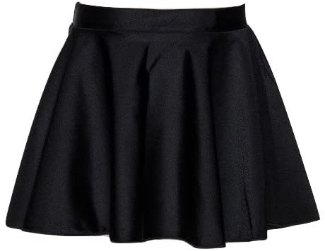 Katz Dancewear Girls Ladies Lycra Ballet Dance Circular Skirt