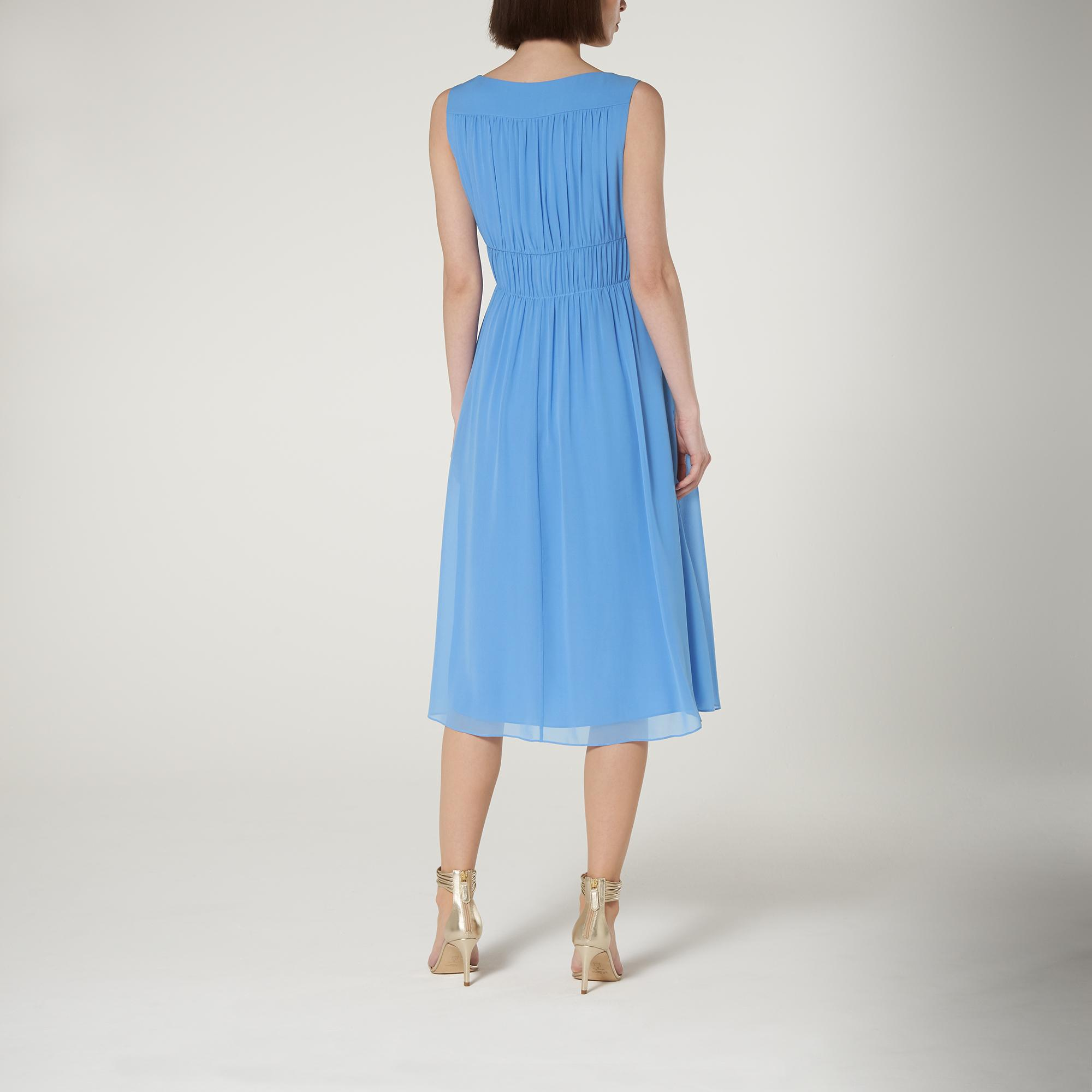 L.K.Bennett Greca Silk Midi Dress