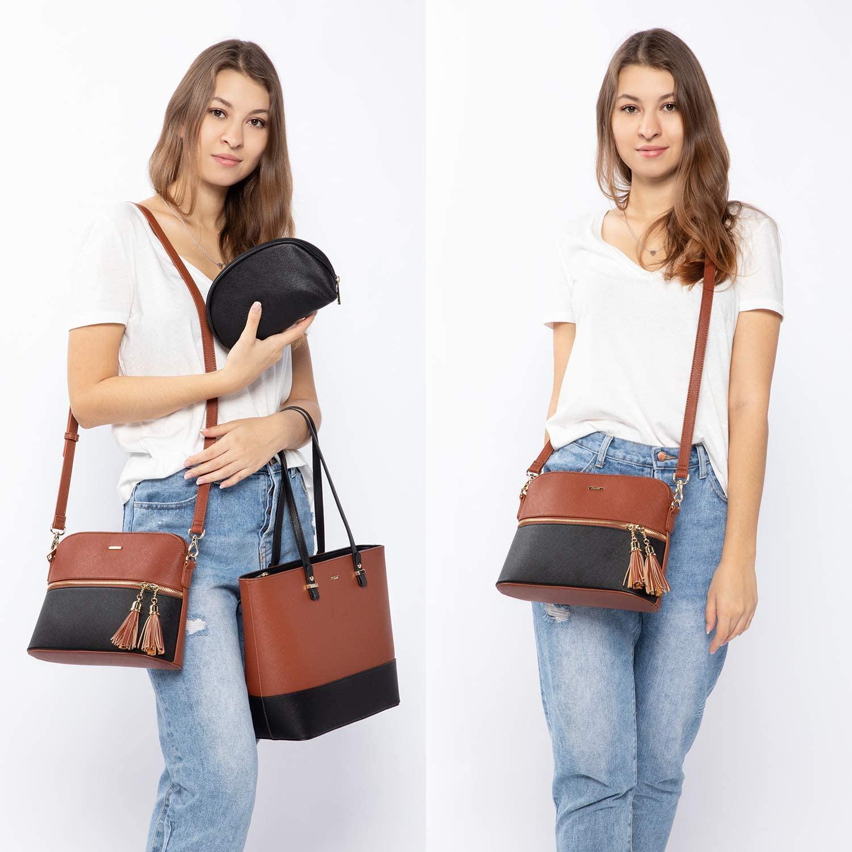 LOVEVOOK Handbag Set for Women