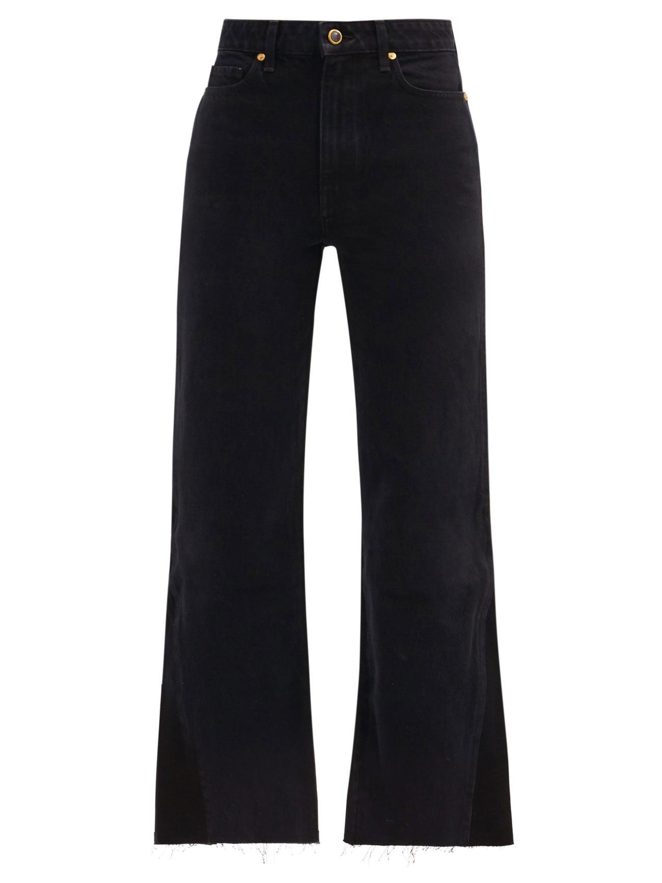 Layla high-rise kick-flare jeans