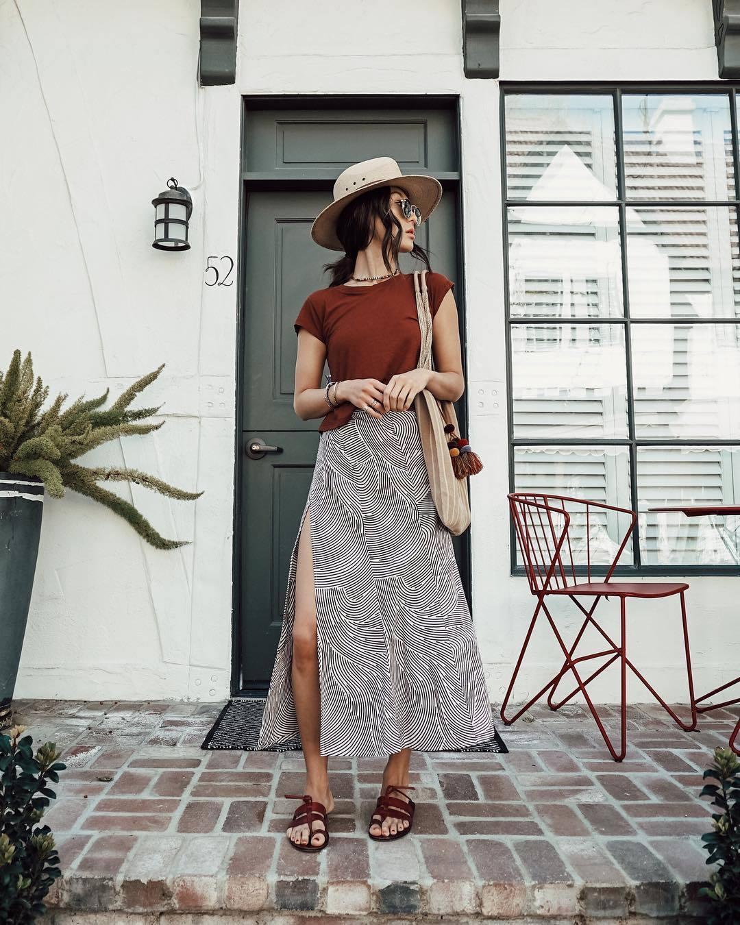 Long Skirt Slash