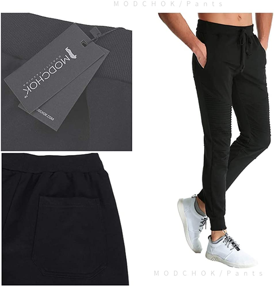 MODCHOK Men's Joggers Sweatpants Casual Athletic Running Workout Track Pants Slim Fit Sweatpants with Pockets