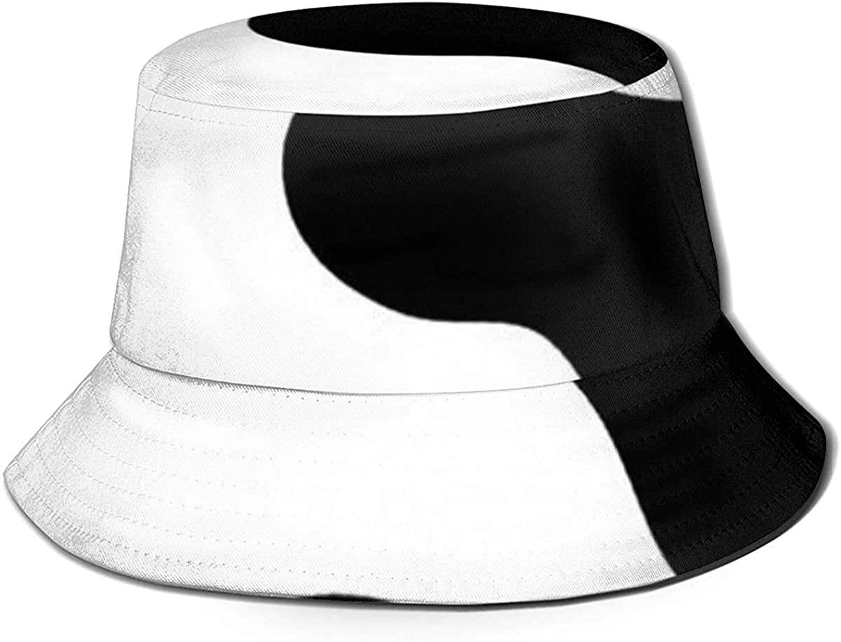 MODORSAN Cow Print Flat Top Unisex Fisherman's Hat