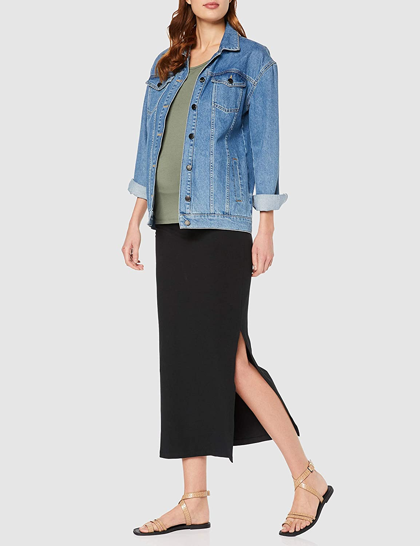 Mamalicious NOS Women's Mllea Org Tube Maxi Skirt A. O. Noos