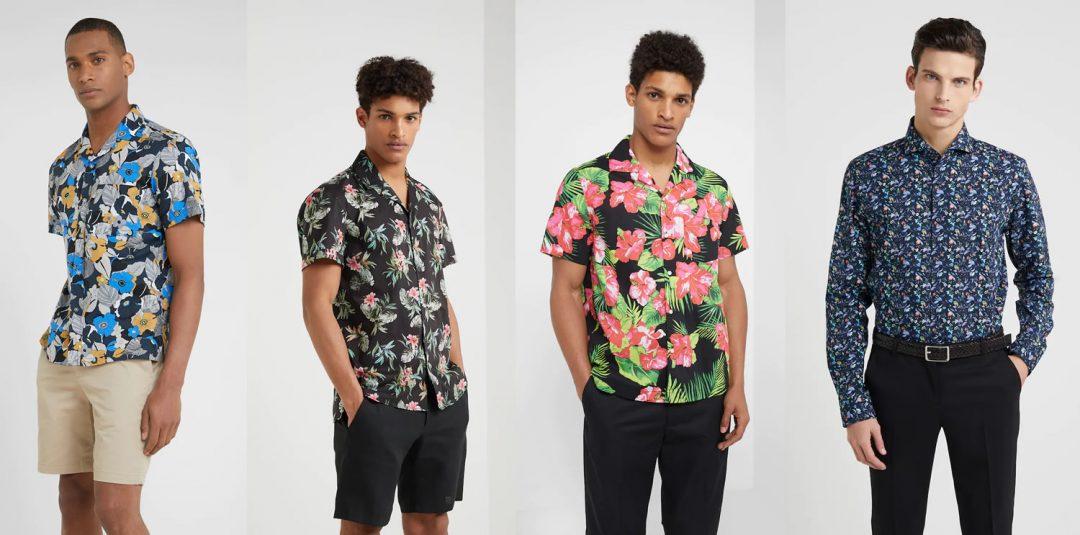 Men's Floral Shirts