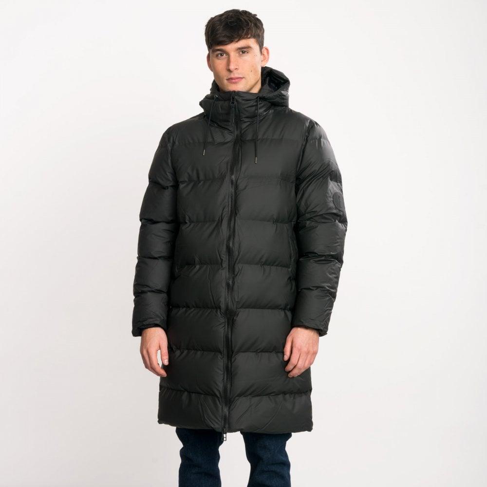 Mens Long Puffer Jacket