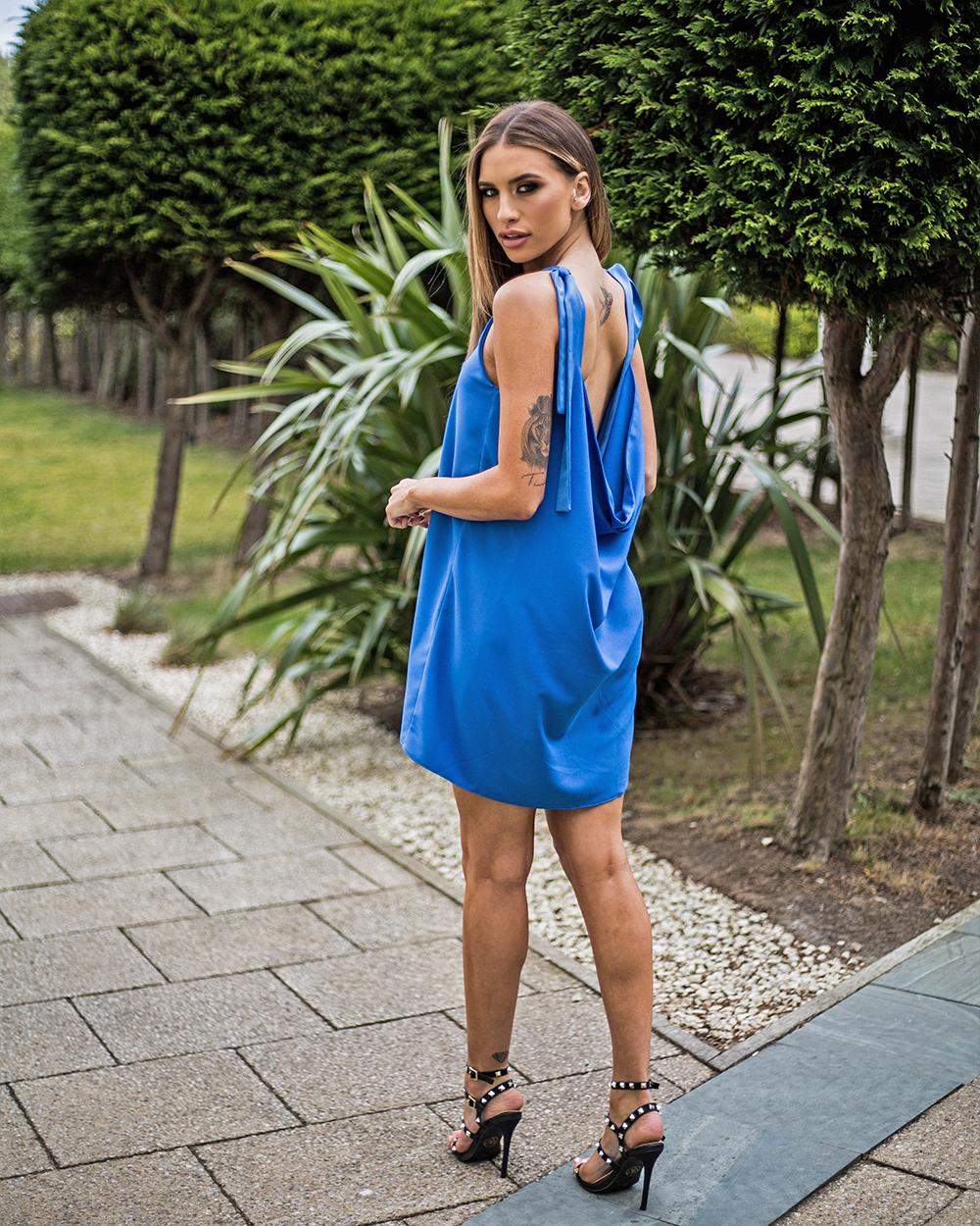 Mimi Cowl Back Dress