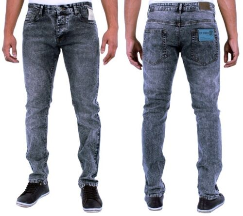 New Mens Designer Enzo Skinny Stretch Slim Fit Skinny Jeans