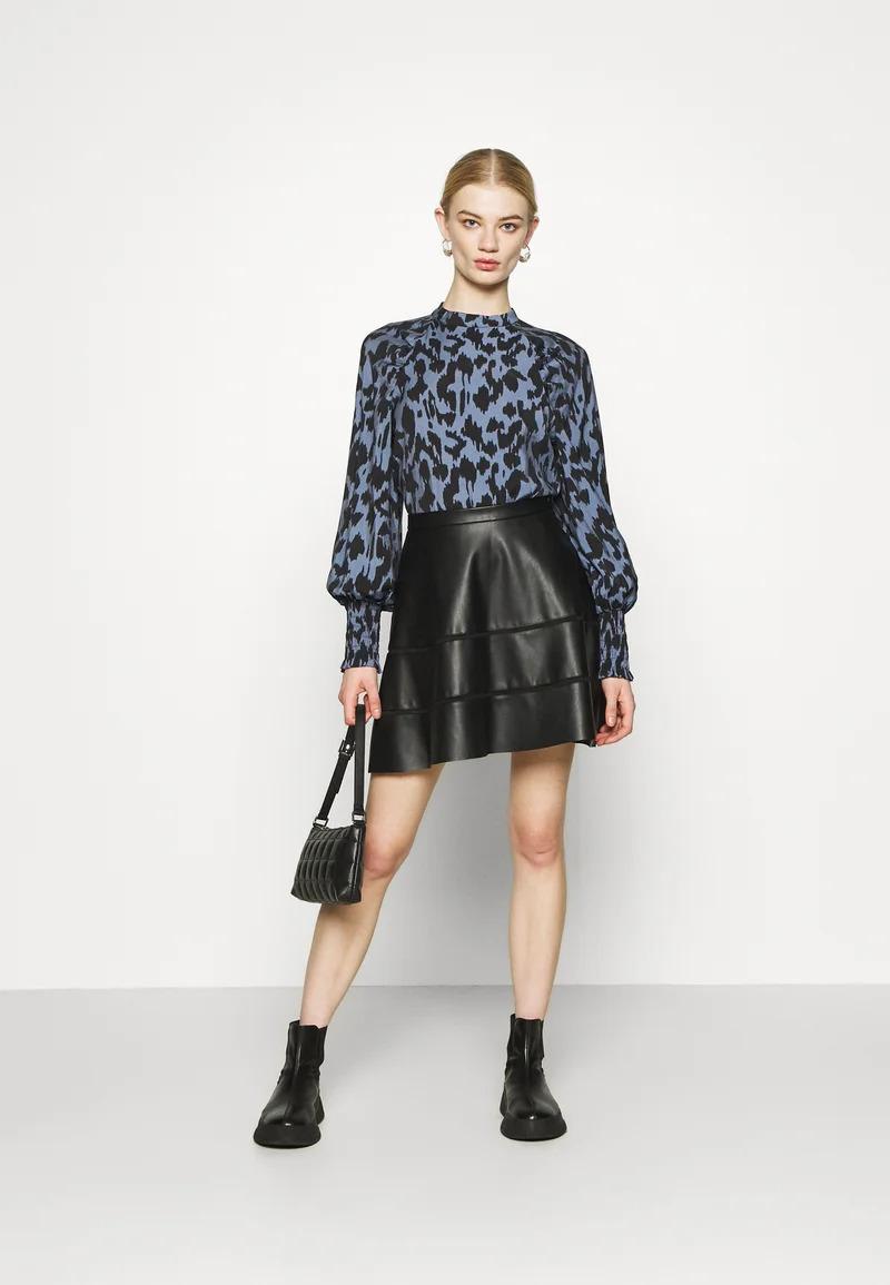 ONLKATIE SKATER SKIRT - Mini skirt