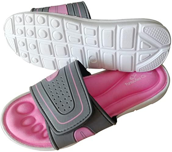 Open Toe Summer Slippers Sliders Flip Flop Slip-ons Women