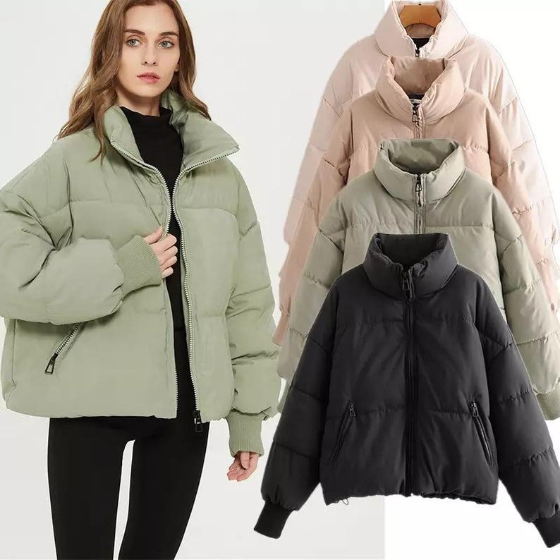 Oversize Parkas Thick puffa down coat jacket