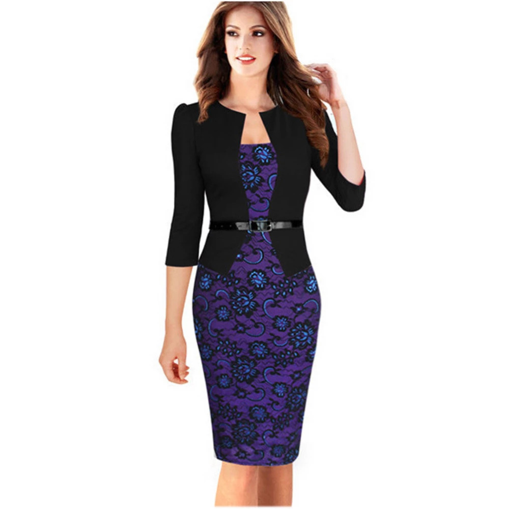 Oxiuly 2017 Women Pencil Dresses