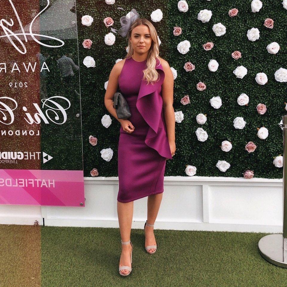 true violet dresses pink