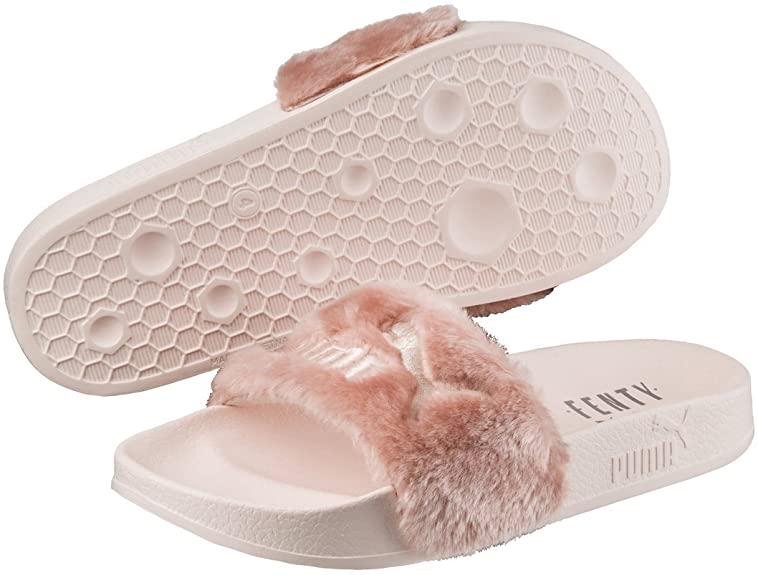 PUMA 100% Genuine Rihanna x Leadcat Fenty Fur Sliders Slippers