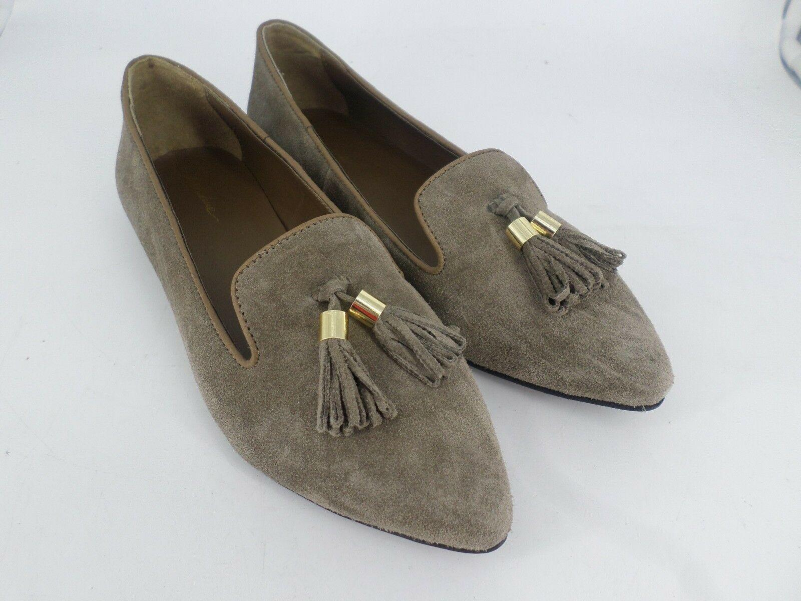 Park Lane Suede Tassel Point Flat Shoes