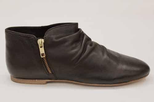 Park Lane Womens Vintage Leather Ankle Shoe