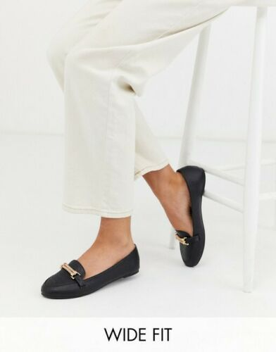 Park Lane wide fit flat loafers