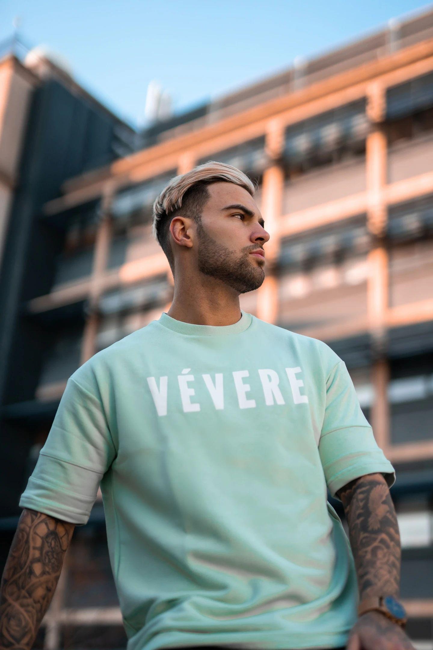 Pastel Green Oversized T-Shirt