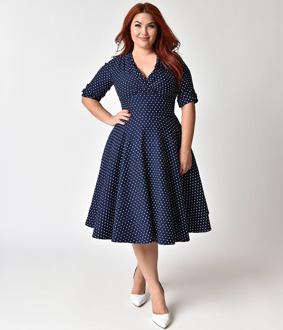 Plus Size smocked dress for women