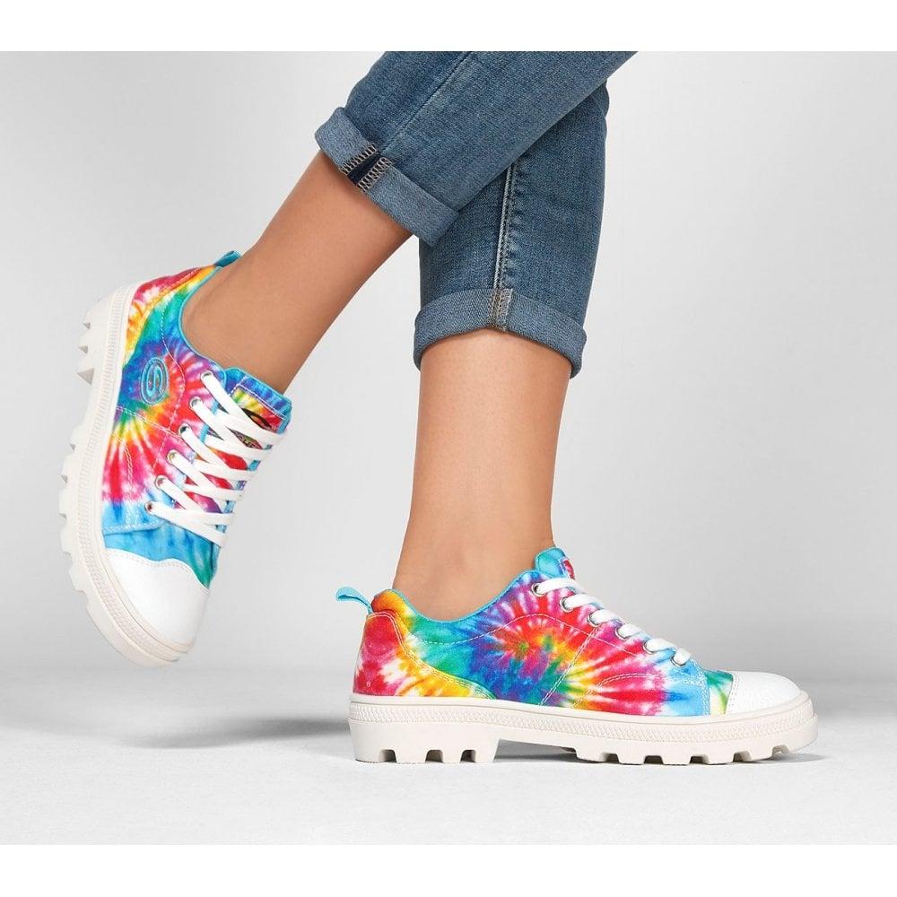 Roadies Berkeley Blocks Tie Dye Sneakers